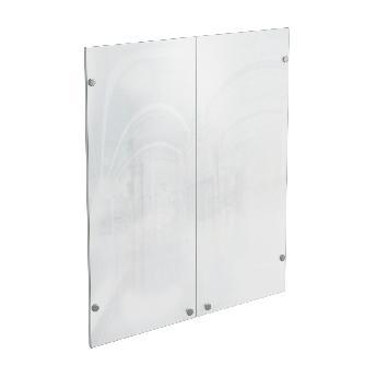 Дверцы стеклянные для универсального шкафа КРОН-СтШ.8