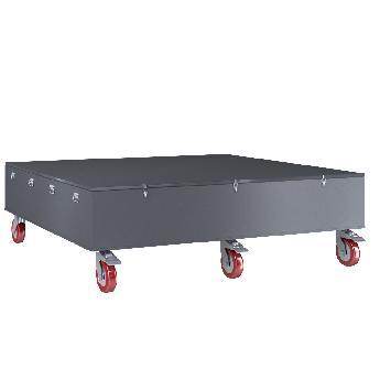 Металлический ящик ЯМ-24245 (2400х2400х500)