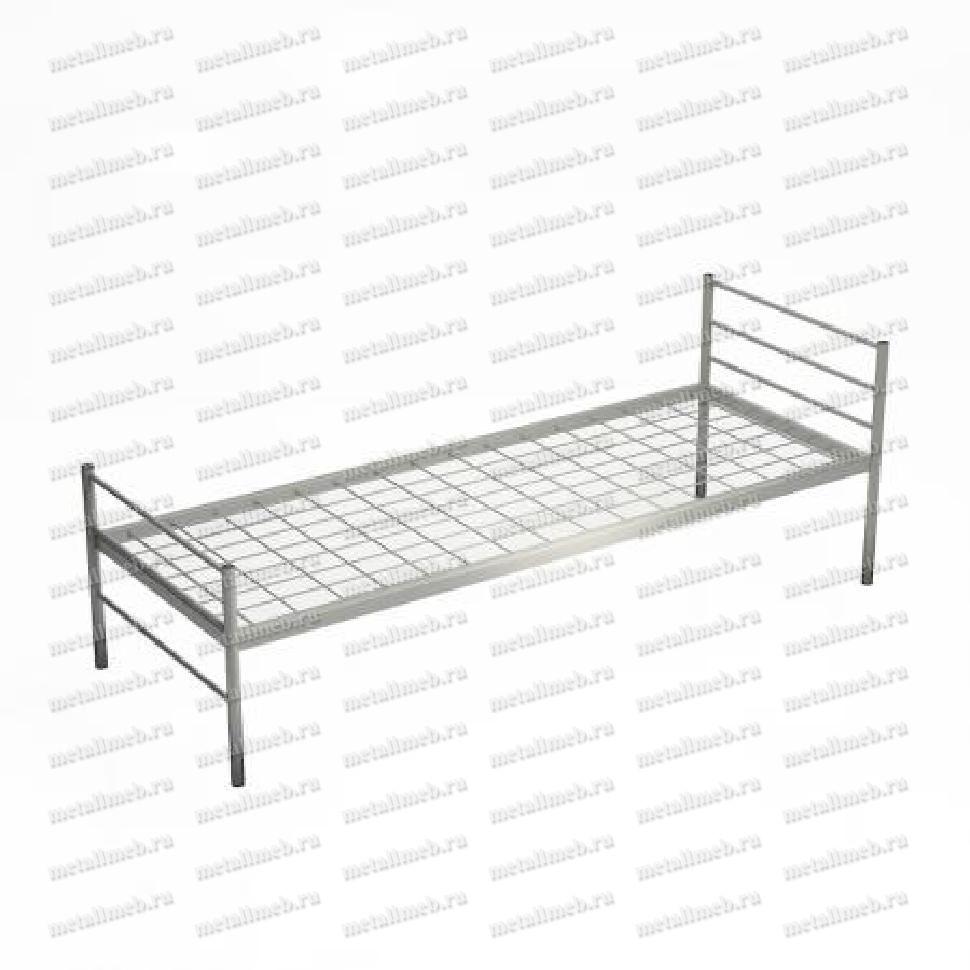 Металлическая медицинская одноярусная кровать