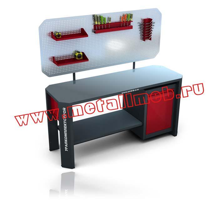 Металлическая мебель для автосервиса
