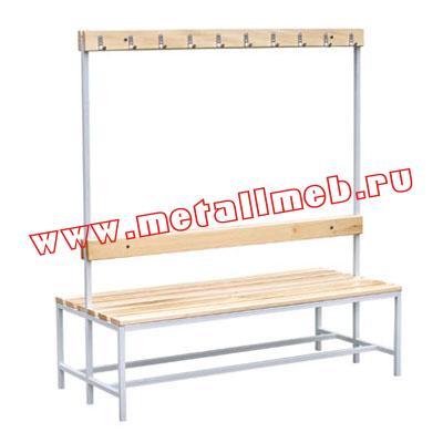 Металлическая мебель для раздевалок