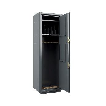 Металлический шкаф для хранения орушия