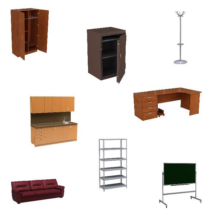 Разновидность армейской мебели