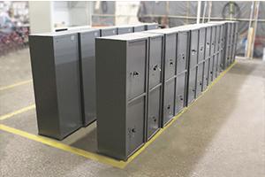 Фото сейфов с двумя дверцами ТМ-120/2Т на производстве