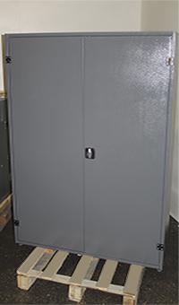 Шкаф для хранения бронежилетов общий вид