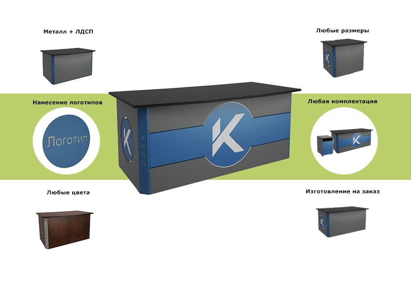 Особенности стола индивидуальной офисной мебели