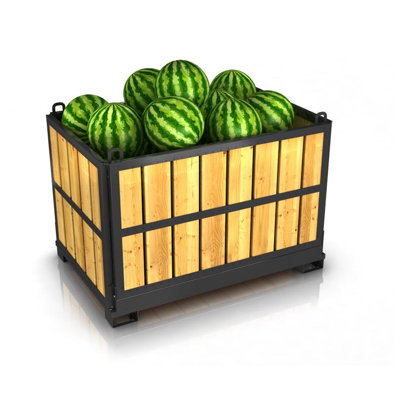 Как хранят и перевозят овощи и фрукты