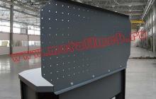 Экран слесарного стола вид сзади
