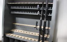 Фото ложементов для хранения оружейных полок