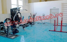 Оснащение тренажерами армейского спортзала