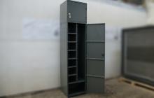Внутренее отделение универсального шкафа тип А-Ф