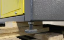 Фото регулируемой по высоте ножки стола  СС-1200