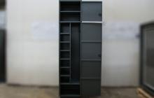 Шкаф тип А-Ф в открытом положении