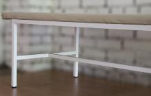 Фото конструкции каркаса кушетки-стола для массажа