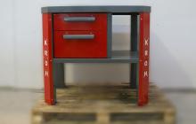 Фото стола слесаря-ремонтника вид спереди