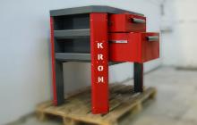 Фото стола слесаря-ремонтника в открытом виде