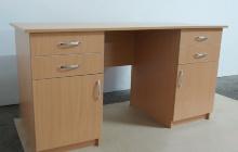 Фотографии двухтумбового офисного стола КРОН-СД-06