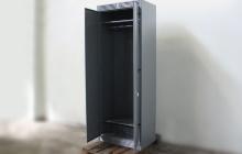 Фото шкафа для сушки одежды ШСО-22М в открытом виде