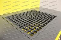 Металлическая решетка рабочей поверхности