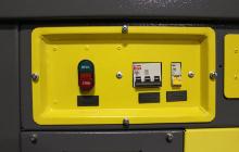 Фото панели управления стола сварщика ССН-01