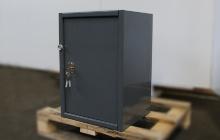 Шкаф металлический (маленкий) общий вид