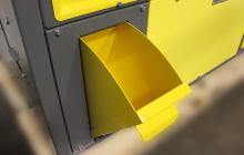 Фото выдвижного ящика для хранения расходных материалов
