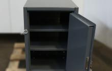 Шкаф металлический (маленький) открытый вид