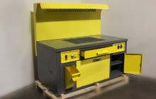 Фото стола сварщика ССН-01 в открытом виде