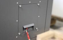 Фото подключения кабеля электроснабжения