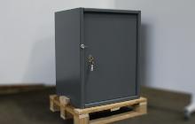 Фотографии сейфа металлического
