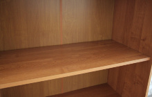 Фото верхней полки шкафа КРОН-ШМ-08