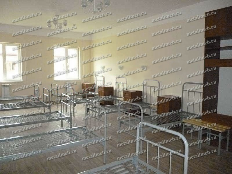 Кронвус-Юг оснастила мебелью военную казарму