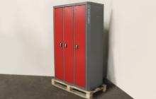 Вид сбоку шкафа для хранения одежды и вещей ШОМ-01-02