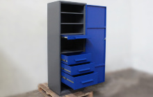 Фото шкафа для инструмента ШИМ-02-02 Вид №3