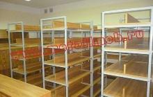 Оснащение металлической мебелью библиотеки