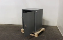 Фотография армейского металлического сейфа