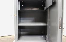 Фото сейфа металлического армейского в открытом виде