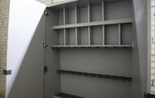 Сепараторы для установки оружия в пирамиду из ЛДСП