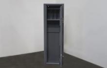 Оружейный шкаф в открытом виде