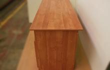 Фото офисного стола КРОН-СД-10 вид сбоку
