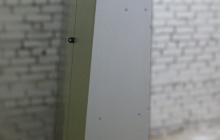 Пирамида для оружия из ЛДСП вид сбоку