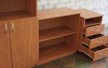 Фото  комплекта стеллажа офисной мебели