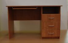 Фото офисного стола КРОН-СК-04 вид спереди