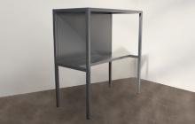 Фотография металлического стола подставки СМ-03