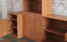 Фото тумбы комплекта офисной мебели общий вид