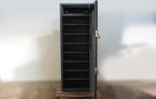 Оружейный шкаф для хранения пистолетов