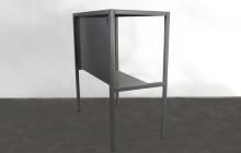 Вид сбоку стола СМ-03