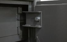 Навесные петли оружейного металлического сейфа