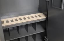Фото металлических полок шкафа ОШ-103