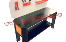 Фотография бестумбового слесарного стола (вид сверху)